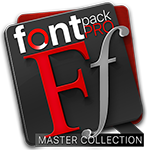 Font Pack Pro Master Collection icon