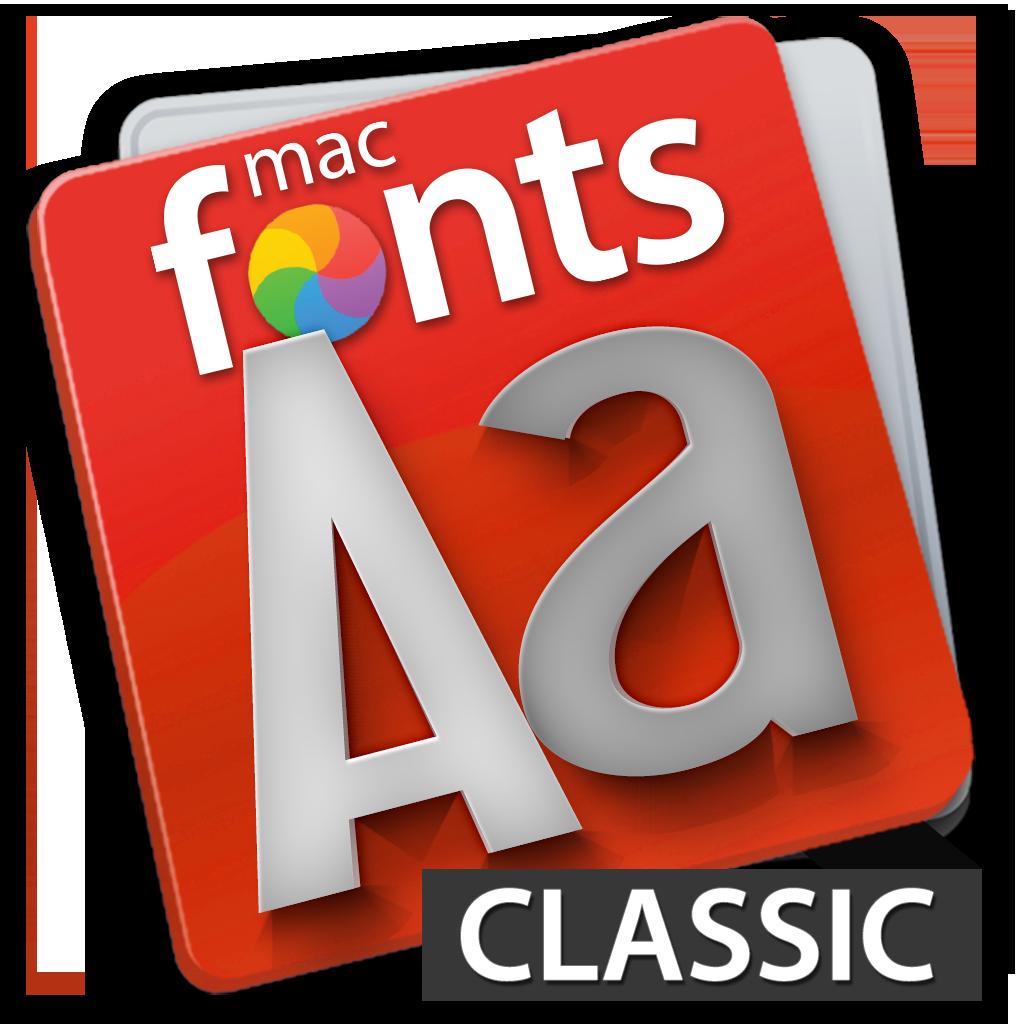 macFonts Classic icon