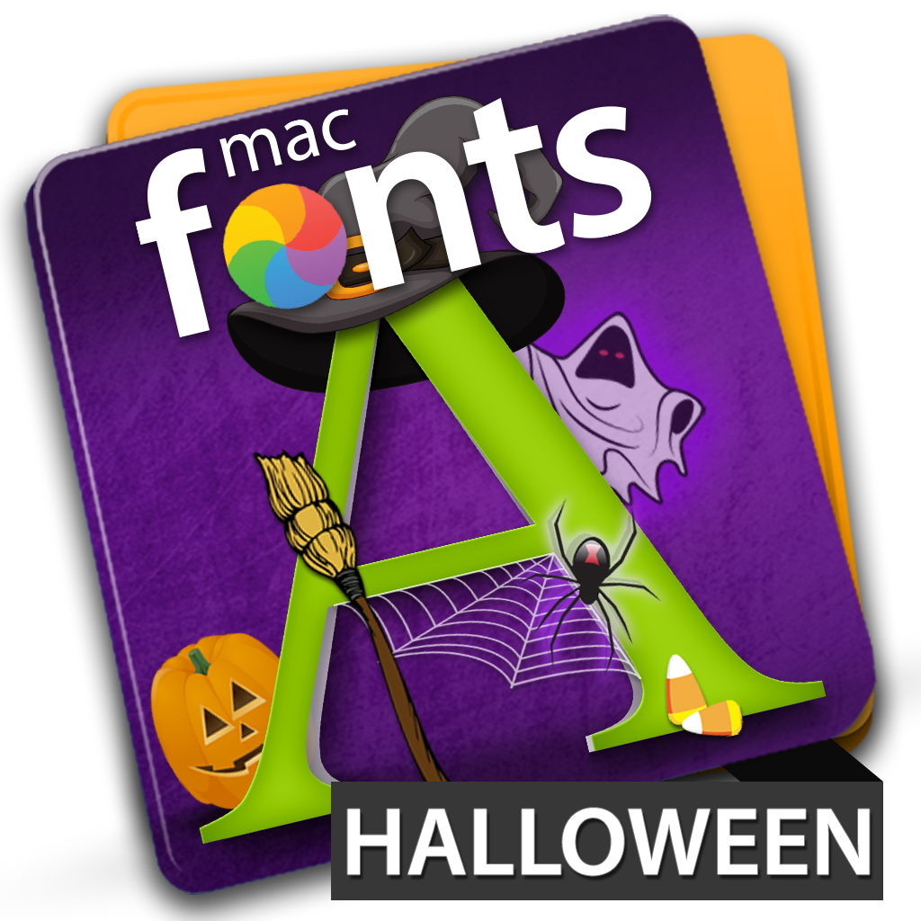 macFonts Halloween icon