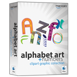 Alphabet Art & Numbers - box