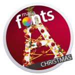 macFonts Christmas icon