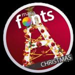 macFonts Christmas icon