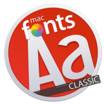 macFonts Classic icon