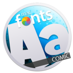 macFonts Comic icon