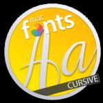 macFonts Cursive icon