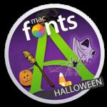 macFonts Halloween icon