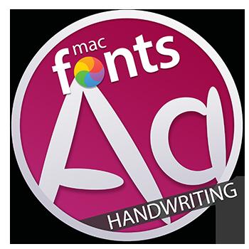 macFonts Handwriting icon