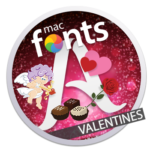 macFonts Valentines icon