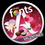 macFonts Valentines icon