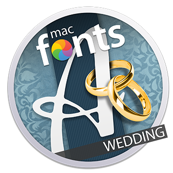 macFonts Wedding icon