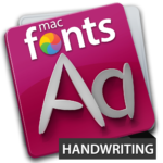 macFonts Handwritting icon