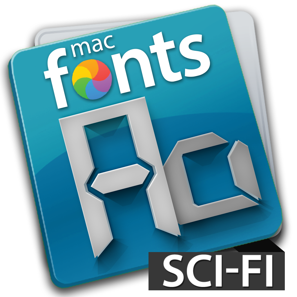 macFonts Sci-Fi icon