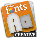 macFonts Creative icon