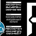 Sci-Fi Sample Fonts