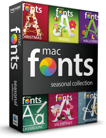 macFonts Seasonal Collection box shot