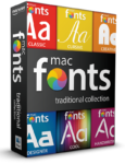 macFonts Traditional Collection box