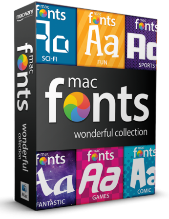macFonts Wonderful Collection box