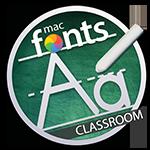 macFonts Classroom icon