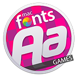 macFonts Games icon
