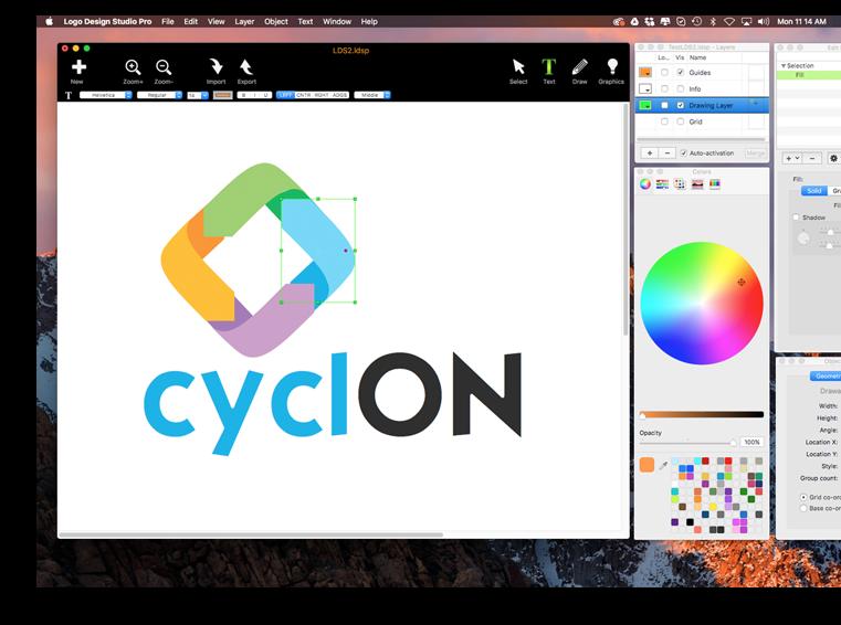 mac Logo Design Studio Pro desktop